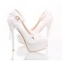 chaussure femme pas cher X003 blanc