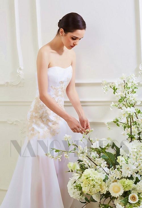 Robe de soiree blanche nancy