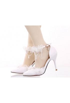 chaussure femme X002 blanc