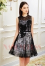 robes de cocktail black Lace courte D011