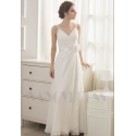 robe de soirée pas cher blanc long
