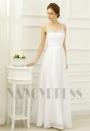 robe de soirée blanc long H057