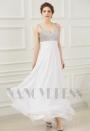 robes de soirée blanc long H082