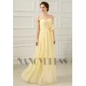 robes de soirée jaune long
