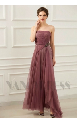 robes de soirée pinkrubber bustier long