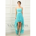 robes soirée bleu clair long