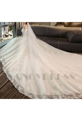 robe de mariage HS020 blanc
