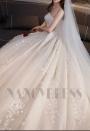 robe de marié HS005 champagne pâle