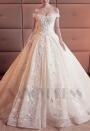 robe de mariée HS008 champagne pâle