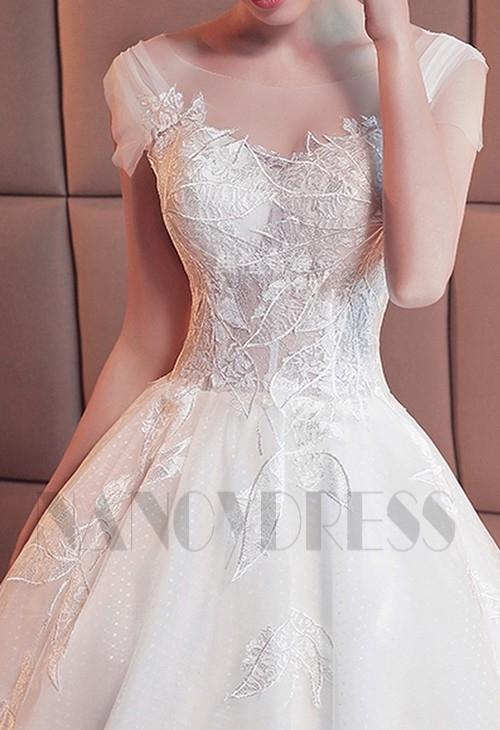 robe de mariée HS015 blanc