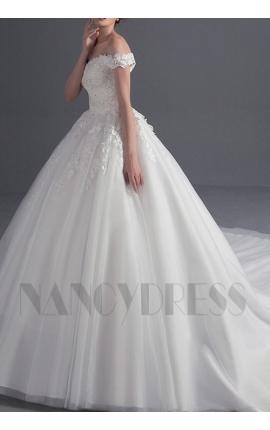 robe de mariée princesse classique
