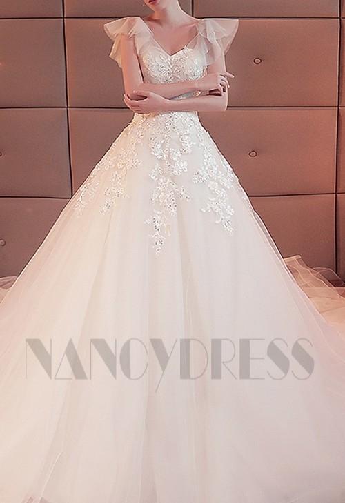 robe de mariée HS022 blanc