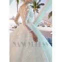 robe mariage dentelle romantique