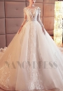 robe mariage HS007 blanc