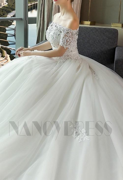 robe mariée blanche en dentelle