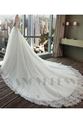 robe mariée HS011 blanc