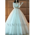 robe de mariage longue traîne