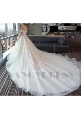 robes de mariée HS010 blanc