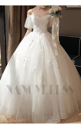 robe de marié bustier blanche