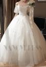 robe de marié HS019 blanc