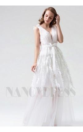 robe de soirée longue blace long