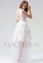 robe de soirée longue blace long H113