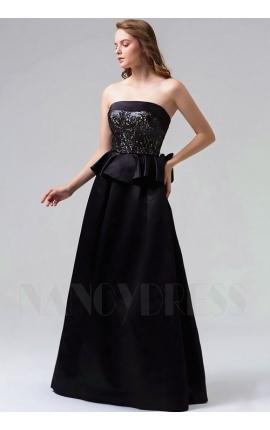 robes de soirée noire long