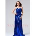 robes de soirée bleu marine long