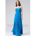 robes soirée bleu long