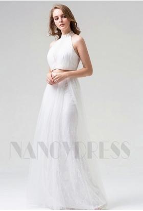robes soirée blace long H110
