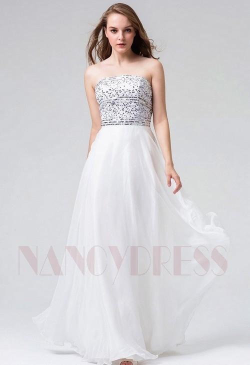 Site robe de soiree blanche