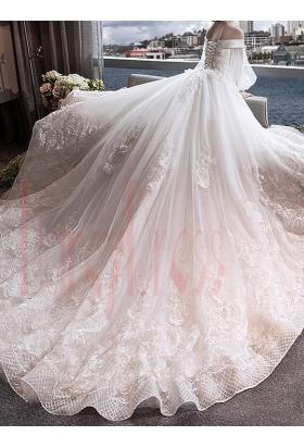robe de mariage vintage blanc