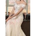 robe de mariée sirène en dentelle