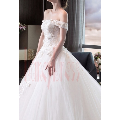 robe mariage blanche bustier