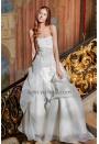 Robe de mariée bustier blanc casse