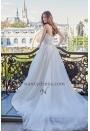 Robe de Mariage Pas Cher Bustier Transparent