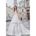 robe mariage taffetas avec jolies broderies